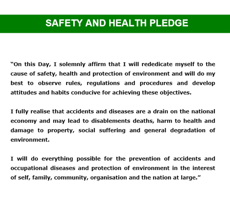 essay on health and safety